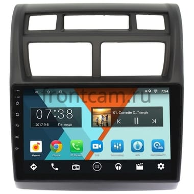 Kia Sportage II 2008-2010 Wide Media MT9049NF-1/16 на Android 7.1.1