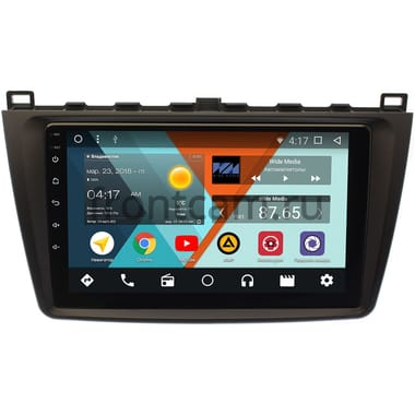 Mazda 6 (GH) 2007-2012 Wide Media MT9033NF-2/16 на Android 7.1.1