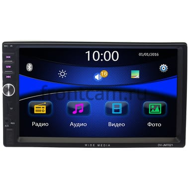 2 DIN Wide Media DV-JM7021 без NAVI