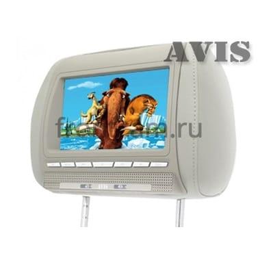 Подголовник AVIS AVS0811T с DVD плеером с монитором 8